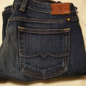 LUCKY BRAND JEANS 2/26 SWEET N STRAIGHT